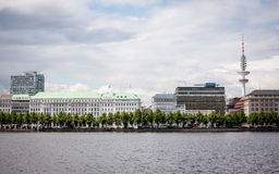 Alster Lake, Hamburg, Germany Stock Photography