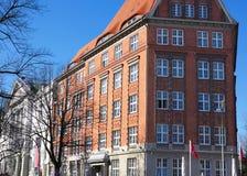 Alsterhotel-I-Hamburg-Duitsland Royalty-vrije Stock Foto