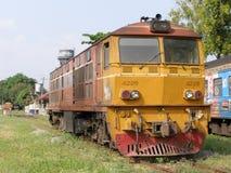 Alsthom Diesel Locomotive NO 4226. CHIANG MAI , THAILAND - OCTOBER  30  2006: Alsthom Diesel Locomotive NO 4226. For Train no52 to Bangkok from Chiangmai. Photo Royalty Free Stock Photos