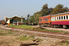 Alsthom Diesel locomotive no.4102 Royalty Free Stock Photo