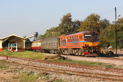 Alsthom Diesel locomotive no.4102 Royalty Free Stock Image