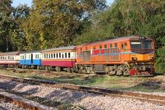 Alsthom Diesel locomotive no.4102 Stock Images