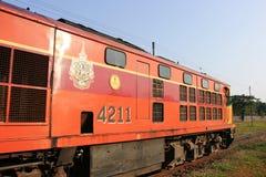 Alsthom diesel- lokomotiv inga 4211 Royaltyfri Fotografi