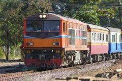 Alsthom Dieslowska lokomotywa żadny 4102 Obraz Royalty Free