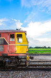 Alsthom head locomotive. Stock Photos