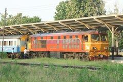 Alsthom Locomotive No4407 For Train No14. Stock Images