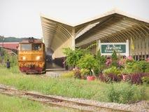 Alsthom Locomotive No4411 For Train No14. Stock Images