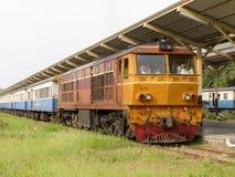 Alsthom Locomotive No4411 For Train No14. Royalty Free Stock Images