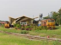 Alsthom Locomotive No4213 For Train No52. Royalty Free Stock Image