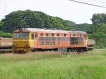 Alsthom Locomotive No4213 For Train No52. Royalty Free Stock Photography
