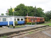 Alsthom Locomotive No. 4214  And Train No52. Stock Images