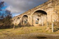 Alston Arches in Haltwhistle Fotografia Stock Libera da Diritti