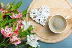Alstroemeria fragrante Fotografia Stock Libera da Diritti