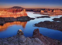 Alstrom Point, Lake Powell, USA Royalty Free Stock Image