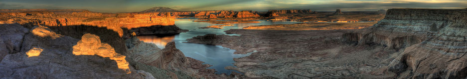 Alstrom Point Panorama Royalty Free Stock Photos