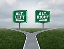 Alt和altright概念 向量例证