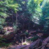 Alt bemannt Höhle in Ohio lizenzfreies stockfoto