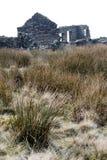 Alt-Bergwerk-Yorkshire-Großbritannien Stockbild