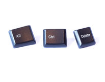 Alt Ctrl Delete Stock Photography
