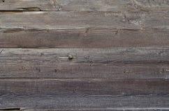 Alt, hölzerne Wand des Schmutzes benutzt als Hintergrund stockbilder