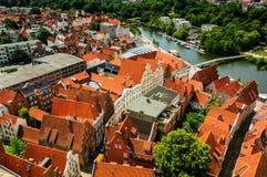 Alt Lübeck Imágenes de archivo libres de regalías