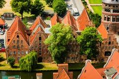 Alt Lübeck Stock Image
