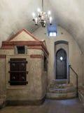Alt-neue Synagoge in Prag stockfoto