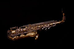 Alt-Saxophon Lizenzfreie Stockfotografie