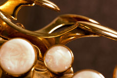 alt szczegółu saksofon Fotografia Stock