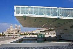 Alt trifft neues, Marseille, Frankreich Stockbild