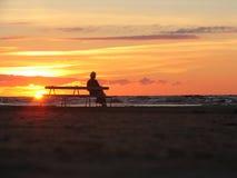 Alt und Einsamkeit lizenzfreie stockfotos
