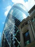 Alt und Neubauten in London-Stadt lizenzfreies stockfoto