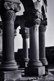 Alt von Zvartnots-Tempel, Armenien Stockfotografie