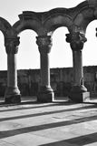 Alt von Zvartnots-Tempel, Armenien Lizenzfreie Stockfotografie