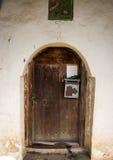 Alt wodden Tür lizenzfreie stockbilder