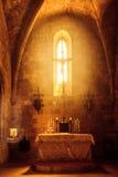 Altaír en el monasterio griego Imagenes de archivo