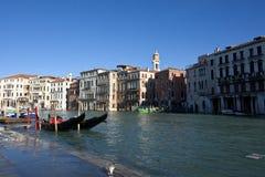 Alta acqua a Venezia Fotografia Stock Libera da Diritti