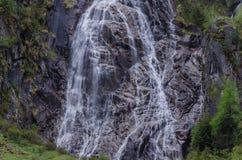 alta ampia cascata Immagine Stock Libera da Diritti