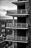 Alta architettura volumetrica Fotografie Stock