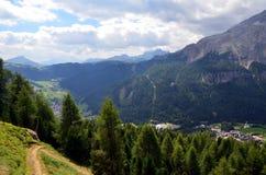 Alta Badia Alto Adige Italy Stock Foto