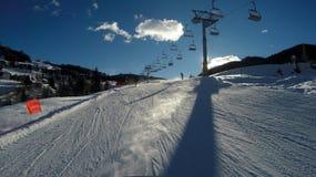 Alta Badia-Erholungsort - Sella Ronda - italienische Alpen - Dolomiti Supers Stockfoto