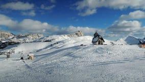 Alta Badia-Erholungsort - Sella Ronda - italienische Alpen - Dolomiti Supers Lizenzfreie Stockfotografie