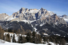Alta Badia, Italia Fotografie Stock Libere da Diritti