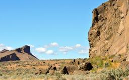 Alta bellezza del deserto fotografia stock