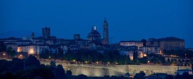 Alta Bergamo Fotografia Stock Libera da Diritti