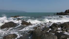 Alta cantidad de la película de la definición de la costa costa vietnamita metrajes