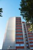 Alta casa con mattoni a vista. Immagini Stock Libere da Diritti