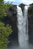 Alta cascada Fotografía de archivo