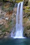 Alta cascata Fotografie Stock Libere da Diritti