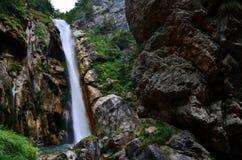 Alta cascata Fotografia Stock